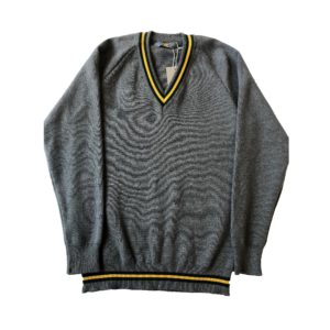 Arden Striped Pullover (Grey) Shop