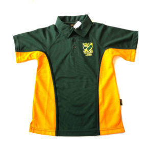 Arden Boy's P.E. Polo Shirt (Falcon) - Bottle / Amber Shop