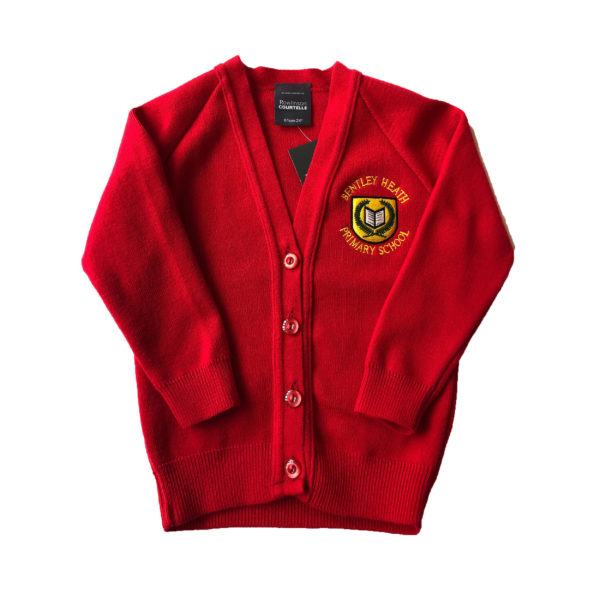 Bentley Heath Cardigan - Red Shop