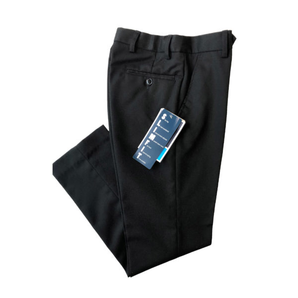 Boys Slim-fit Trouser (Banner) Reg - Black Shop