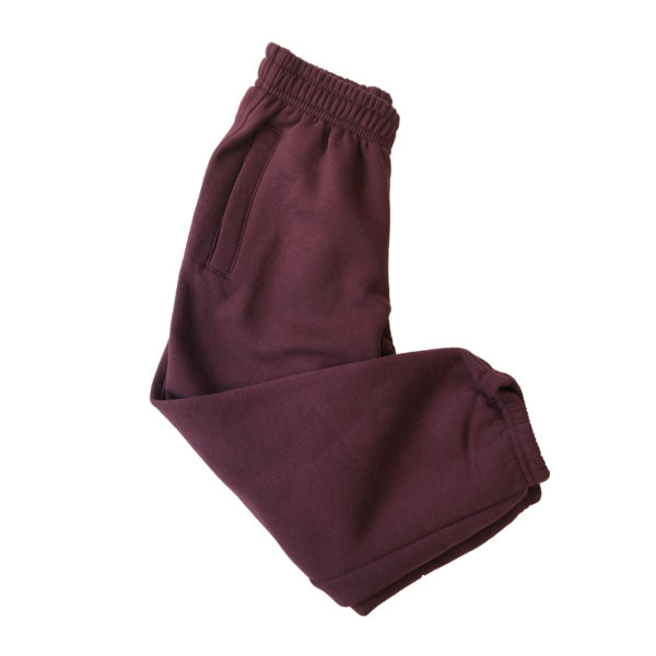 Knowle Nursery Jogging Bottoms - Maroon Shop