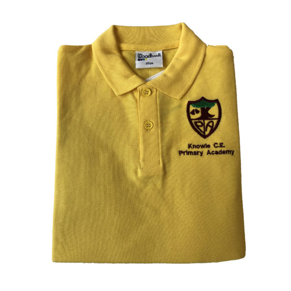 Knowle Nursery Polo Shirt - Gold Shop