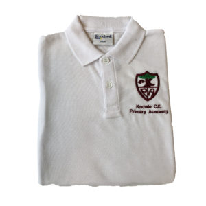 Knowle White Polo Shirt Shop