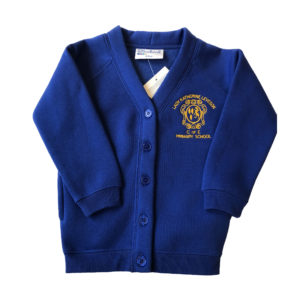 Lady Katherine Leveson Nursery Cardigan - Blue Shop