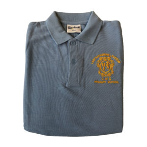 Lady Katherine Leveson Nursery Polo Shirt - Blue Shop