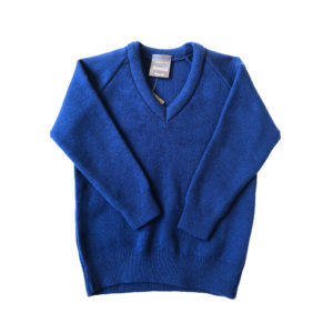St George & St Teresa Pullover - Royal Shop