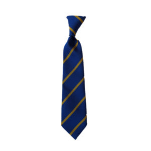 St George & St Teresa Tie - Royal / Gold Shop