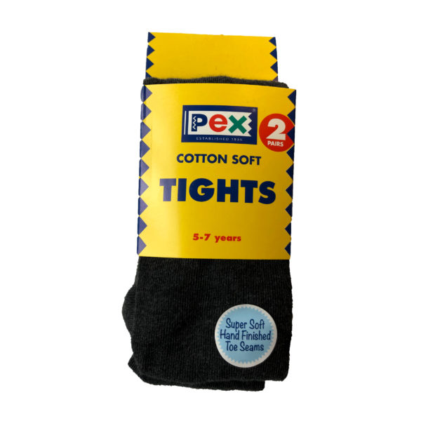 Tights Twin Pack (Pex) - Grey Shop