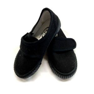 Velcro Pumps Nursery - Black Shop